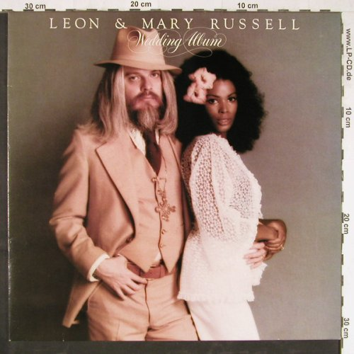 Russell,Leon & Mary: Wedding Album, WB(56 244), D, 1976 - LP - E3096 - 9,00 Euro