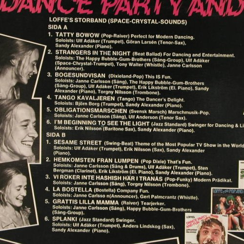Loffe: Dance Party and Fun, Toniton(TON LP 5503), S, 1975 - LP - E3122 - 5,00 Euro