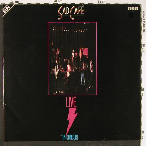 Sad Cafe: Live In Concert,Foc, RCA(PL 25336), D, 1981 - 2LP - E3223 - 7,50 Euro