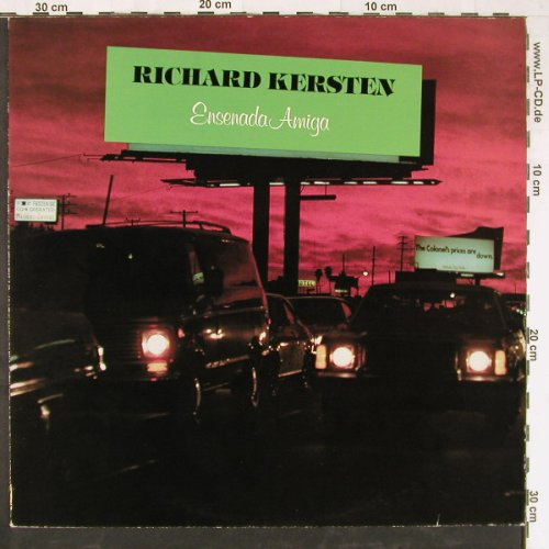 Kersten,Richard: Ensenada Amiga, Jupiter(6.24623), D, 1981 - LP - E3352 - 9,00 Euro