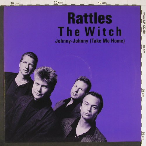 Rattles: The Witch / Johnny-Johnny/+1, Mercury(872 533-1), D, 1988 - 12inch - E345 - 4,00 Euro