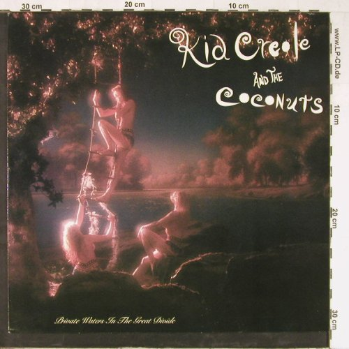 Kid Creole & Coconuts: Private Waters in the Great Divide, CBS(466251 1), NL, 1990 - LP - E3520 - 5,00 Euro