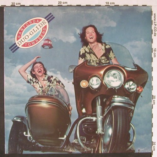 Sanford & Townsend: Duo Glide, co, WB(BSK 3081), US, 1977 - LP - E358 - 3,00 Euro