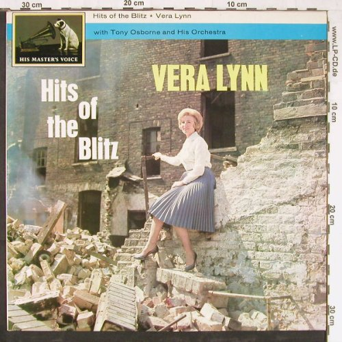 Lynn,Vera w.Tony Osborne & Orch.: Hits Of The Blitz,Ri, His Masters Voice(CSD 1457), UK, 1962 - LP - E3601 - 6,00 Euro