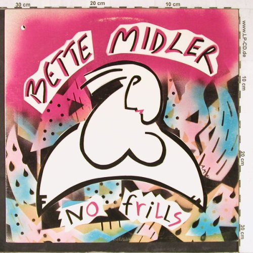Midler,Bette: No Frills,Co, Atlantic(80070-1), US, 1983 - LP - E3615 - 5,00 Euro