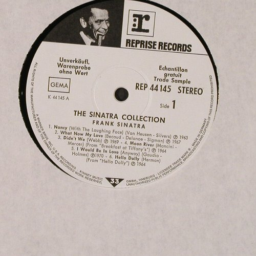 Sinatra,Frank: The Sinatra Collection,Warenprobe, Reprise(44 145), D,Promo,  - LP - E3740 - 15,00 Euro