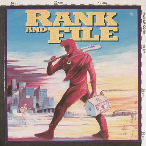 Rank And File: Same, Rhino(RNLP 70830), US, 1987 - LP - E387 - 6,00 Euro