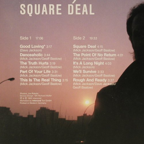 Jackson,Mick: Square Deal, Blow Up(INT 145.501), D, 1982 - LP - E3909 - 5,00 Euro