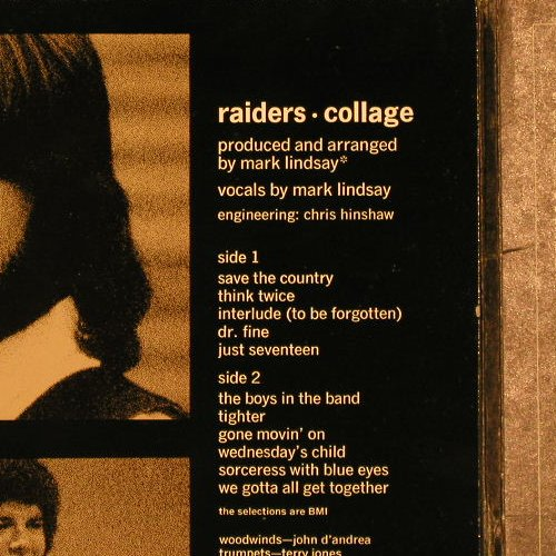 Raiders: Collage,Foc, Columb.(CS 9964), US, 1970 - LP - E3911 - 12,50 Euro