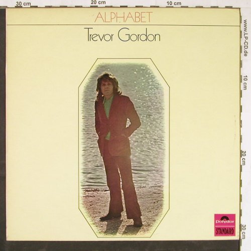 Gordon,Trevor: Alphabet, Polyd.(2343 011), UK, 1970 - LP - E4003 - 9,00 Euro