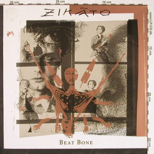 Zikato: Beat Bone, Day-Glo(DGL1), D, 1989 - LP - E4170 - 5,00 Euro