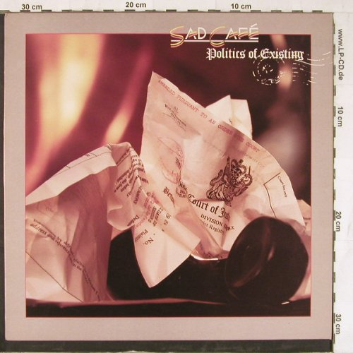 Sad Cafe: Politics Of Existing, L Rec.(CAFE LP1), UK, 1985 - LP - E4188 - 5,00 Euro