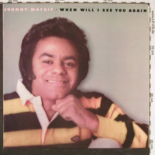 Mathis,Johnny: When Will I See You Again, CBS(SBP 234648), AUS, 1975 - LP - E4278 - 5,00 Euro