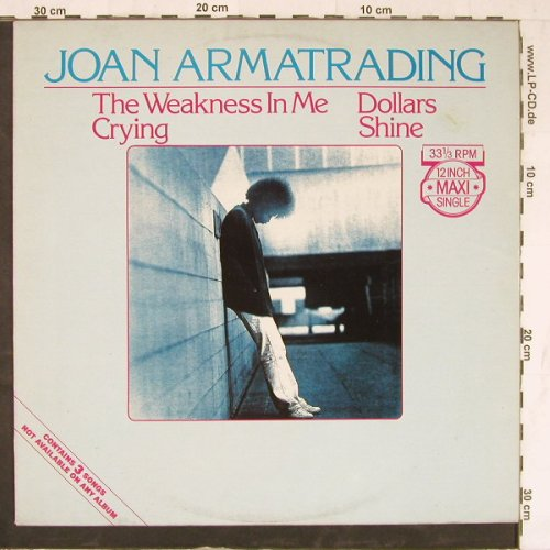 Armatrading,Joan: The Weakness In Me+3, AM(AMS 12.9191), NL, 1981 - 12inch - E4320 - 3,00 Euro