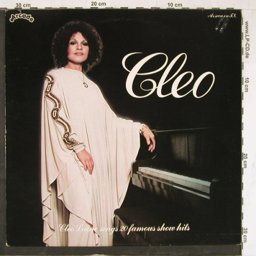 Laine,Cleo: Cleo Sings 20 Famous Show Hits, Arcade(ADE P37), UK, 1978 - LP - E4363 - 5,00 Euro
