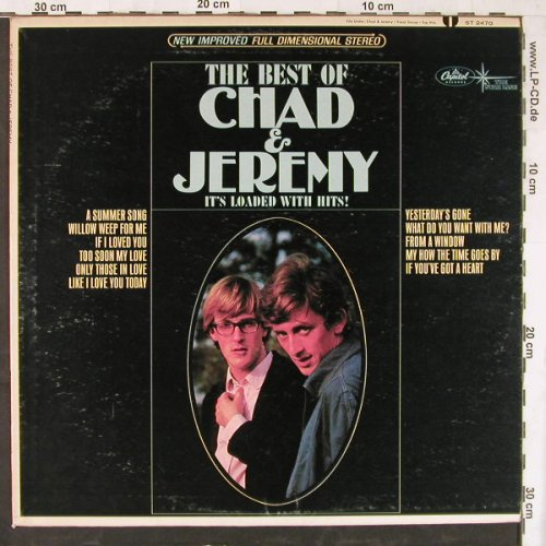 Chad & Jeremy: The Best Of, Capitol(ST 2470), US,  - LP - E4408 - 7,50 Euro