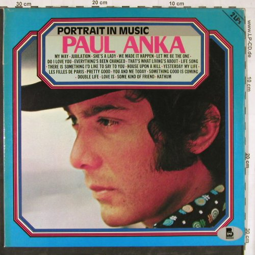 Anka,Paul: Portrait In Music,Foc, Buddah(6.28427 DP), D, 1976 - 2LP - E4469 - 7,50 Euro