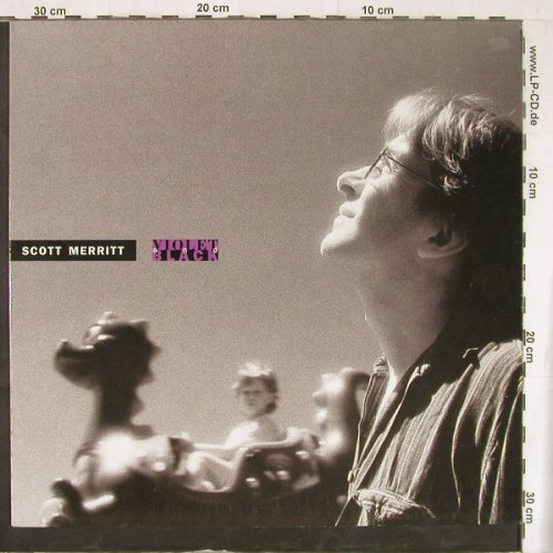 Merritt,Scott: Violet And Black, IRS(24 1033 1), EEC, 1990 - LP - E4496 - 5,00 Euro