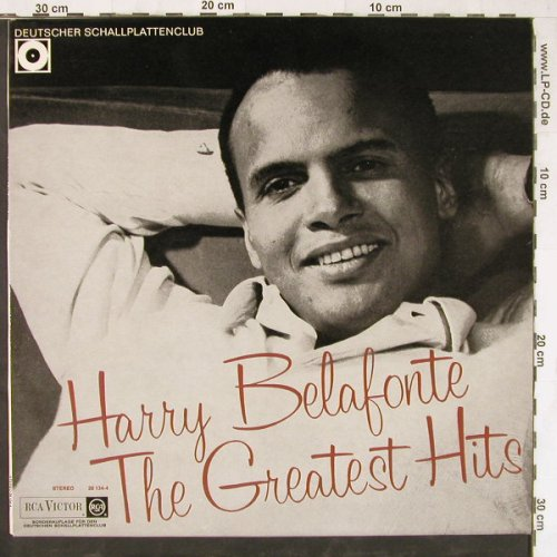 Belafonte,Harry: The Greatest Hits,DSC-Ed., RCA Victor(29 134-4), D,  - LP - E4702 - 7,50 Euro