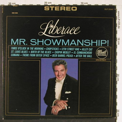 Liberace: Mr.Showmanship!, co, ABC DOT(DLP25.547), US,  - LP - E471 - 5,00 Euro