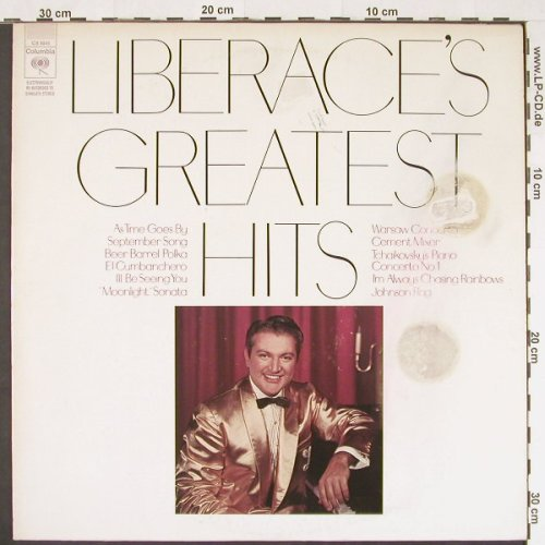 Liberace: Greatest Hits, m-/vg -, Columbia(CS 9845), US,  - LP - E472 - 4,00 Euro