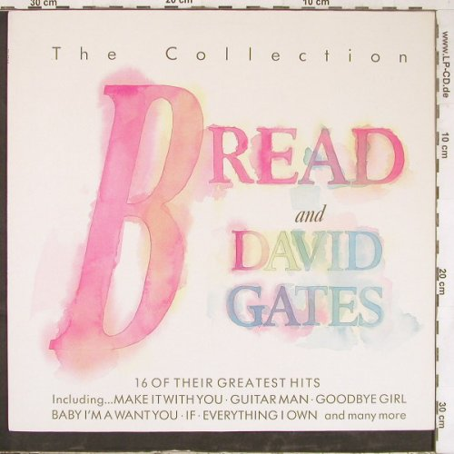 Bread & David Gates: The Collection, Telstar(STAR 2303), UK, 1987 - LP - E4758 - 6,00 Euro