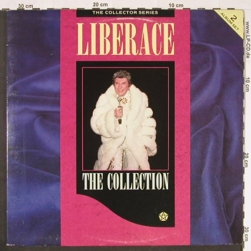 Liberace: The Collection, Foc, Coll.Serie(CCS LP 201), UK, 1988 - 2LP - E477 - 7,50 Euro