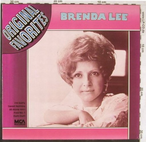 Lee,Brenda: Original Favorites, MCA(202 935-241), D,  - LP - E4997 - 4,00 Euro
