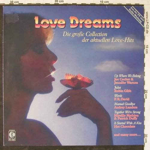 V.A.Love Dreams: Joe Cocker/J.Warnes...Frank Duval, K-tel(TG 1401), D, m-/vg+, 1983 - LP - E5018 - 2,50 Euro