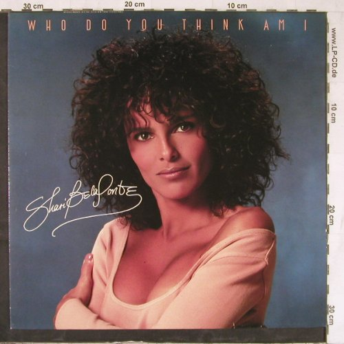 Belafonte,Shari: Who Do You Think Am I*2+1, Metronome(887 092-1), D, 1987 - 12inch - E5033 - 2,00 Euro
