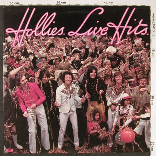 Hollies: Live Hits, Polydor(2383 428), UK, 1976 - LP - E5055 - 6,00 Euro