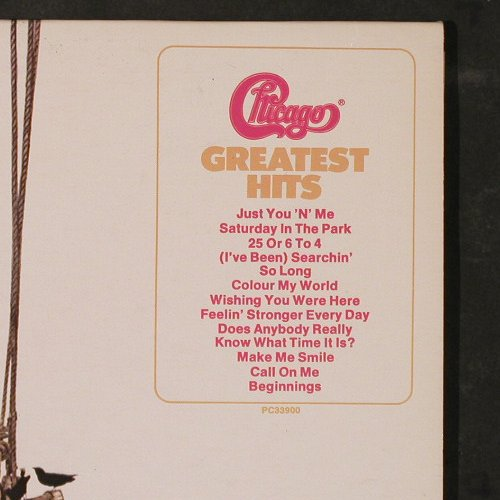 Chicago: Greatest Hits, Columb.(PC 33900), CDN, 1975 - LP - E5180 - 5,00 Euro