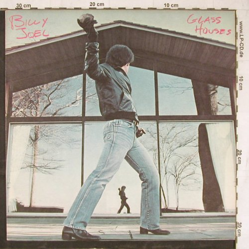 Joel,Billy: Glass Houses, Columb.(FC 36384), US, 1980 - LP - E5256 - 4,00 Euro