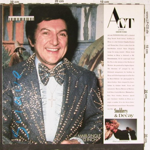 Snobbery & Decay: That's Entertainment+1, ZTT(609 105), D, 1987 - 12inch - E5484 - 5,00 Euro