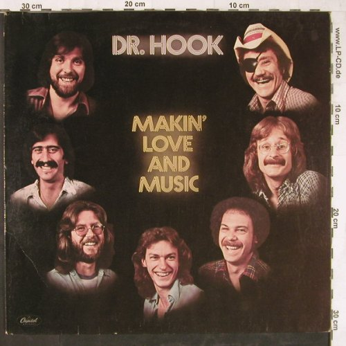 Dr.Hook: Makin'Love And Music, Capitol(064-85 156), D, 1977 - LP - E5623 - 5,00 Euro