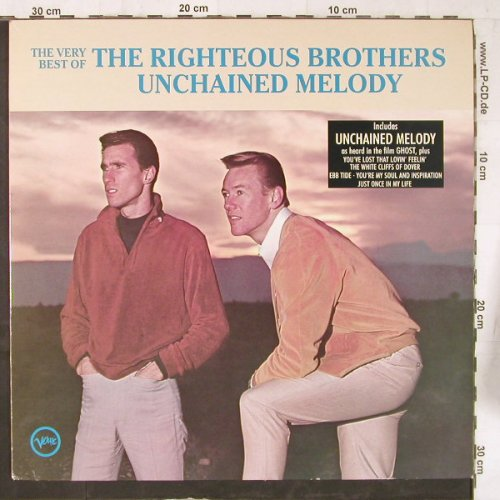 Righteous Brothers: Unchained Melody, Ri, Verve(847 248-1), NL, 1990 - LP - E5643 - 5,00 Euro