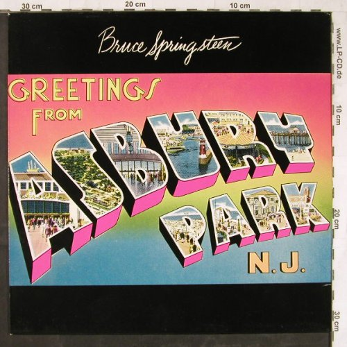Springsteen,Bruce: Greetings From Asbury Park,Ri, CBS(32210), NL, 1973 - LP - E5664 - 5,00 Euro