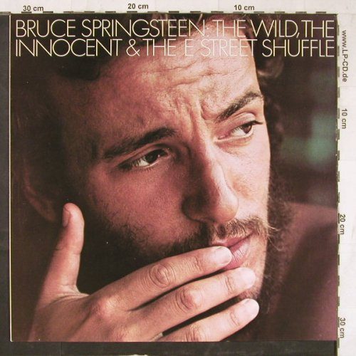 Springsteen,Bruce: The Wild,The Innocent & The...,Ri, CBS(32 363), NL, 1973 - LP - E5673 - 5,00 Euro