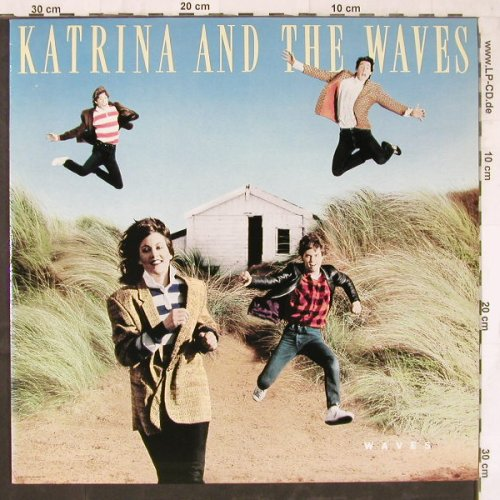 Katrina & The Waves: Waves, Capitol(24 0535 1), NL, 1986 - LP - E5678 - 5,00 Euro