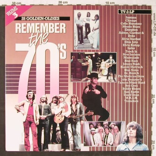 V.A.Remember The 70's: Vol.3,Santana...Casey & t.PressureG, Arcade(ADEH 157), NL, Foc, 1984 - 2LP - E5692 - 5,00 Euro
