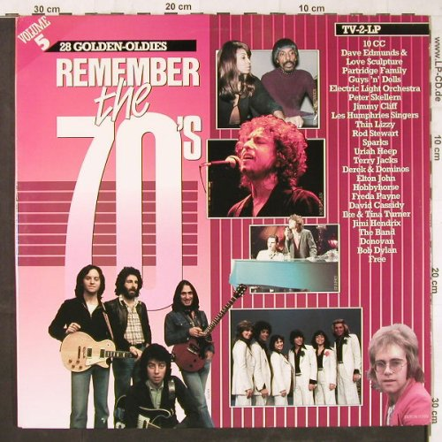 V.A.Remember The 70's: Vol.5,10CC...Rob Hoeke BoogieW.Q., Arcade(ADEH 159), NL, Foc, 1984 - 2LP - E5694 - 5,00 Euro