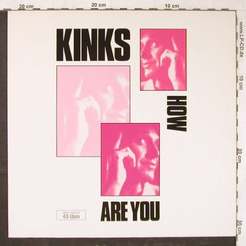 Kinks: How Are You+2, London(886 099-1), D, 1986 - 12inch - E5705 - 3,00 Euro