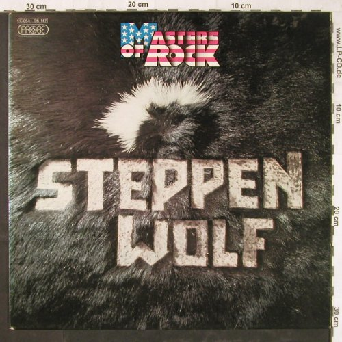 Steppenwolf: Masters Of Rock, Probe (pink Label)(C 054-95 147), D,  - LP - E5708 - 7,50 Euro