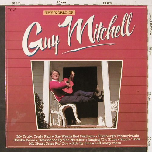 Mitchell,Guy: The World Of, Arcade(ADEH 93), NL, 1982 - LP - E5939 - 4,00 Euro