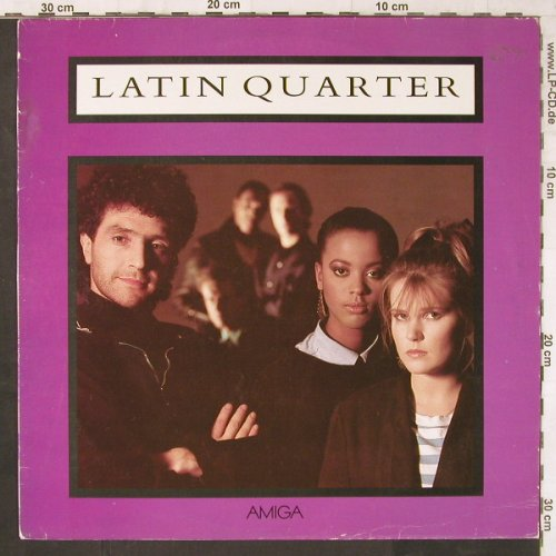 Latin Quarter: Same, Amiga(), DDR, 1988 - LP - E6117 - 4,00 Euro