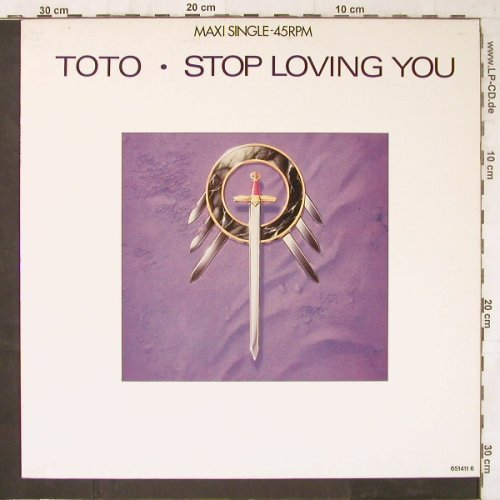 Toto: Stop Loving You+2, CBS(651411 6), NL, 1988 - 12inch - E6221 - 4,00 Euro