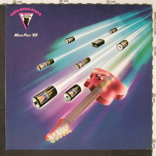 V.A.Varta Music Power: Musik Preis '88, CPR(973-27), D, 1988 - LP - E6310 - 5,00 Euro