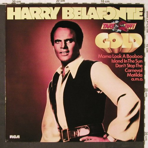 Belafonte,Harry: Take Off!-Gold, RCA(CL 42479), D, 1978 - LP - E6326 - 4,00 Euro
