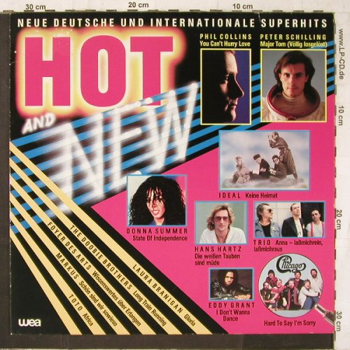 V.A.Hot and New: Phil Collins...Hans Hartz, WEA(24.0100-1), D, 1983 - LP - E6670 - 3,00 Euro