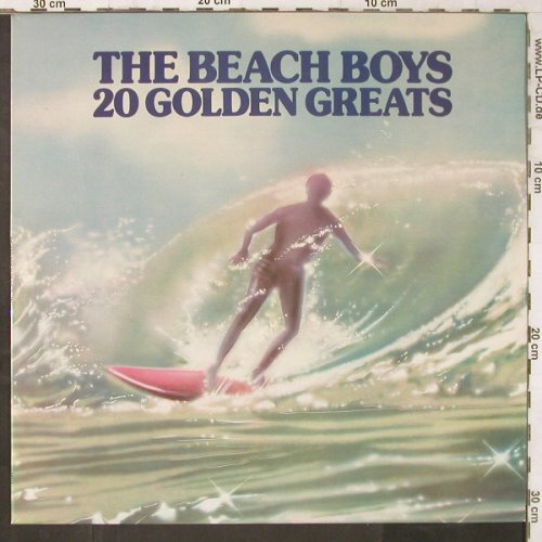 Beach Boys: 20 Golden Greats, EMI(EMTV1), UK, 1976 - LP - E6710 - 4,00 Euro